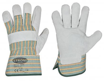 HK/TOP Rindspaltleder-Handschuhe Größe: 10,5
