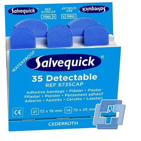 Salvequick® (6735) Nachfüllsätze detektierbar