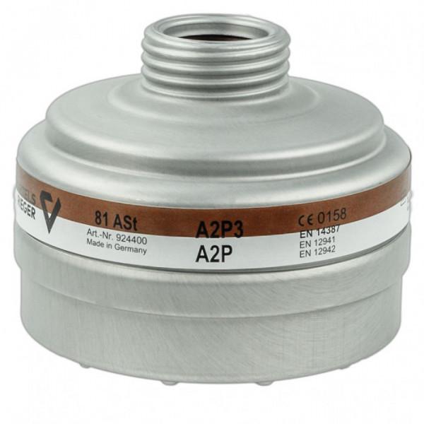 Bartels & Riegers Schraubfilter 81 ASt (A2 P3 R D)