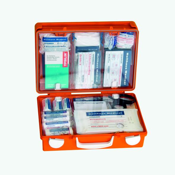 Erste-Hilfe-Koffer SAN, orange