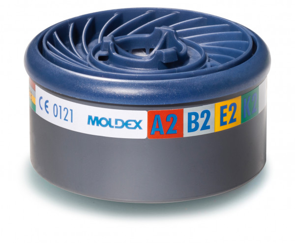 MOLDEX Gasfilter 9800, EASYLOCK® A2B2E2K2